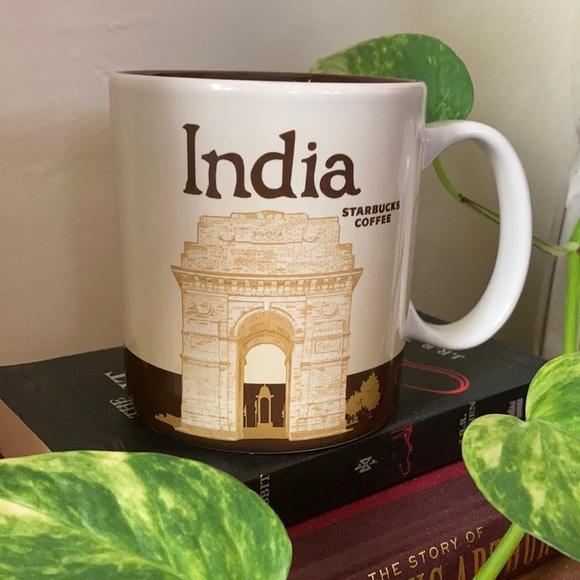 Starbucks Collector Series India Cup Mug, 16 oz.